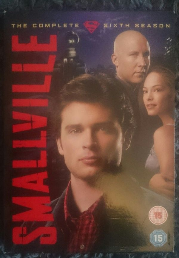 Smallville - Series 6 - Complete (DVD, 2007, 6-Disc Set, Box Set) USED